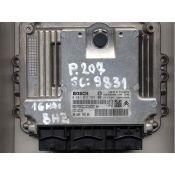 Defecte Ecu Peugeot 207 1.4HDI 0281012529 EDC16C34
