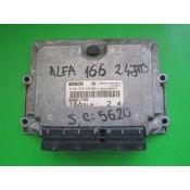 ECU Calculator Motor Alfa Romeo 166 2.4JTD 46821768 0281010340 EDC15C7