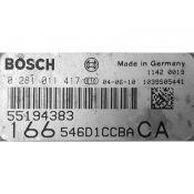 ECU Calculator Motor Alfa Romeo 166 2.4JTD 55194383 0281011417 EDC16C8 {