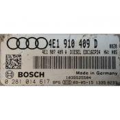 ECU Calculator Motor Audi A8 4.2TDI 4E1910409D 0281014617 EDC16CP34 BVN {