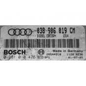 ECU Calculator Motor Audi A3 1.9TDI 038906019CM 0281010476 EDC15P+ {