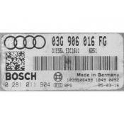 ECU Calculator Motor Audi A3 2.0TDI 03G906016FG 0281011904 EDC16U1 {