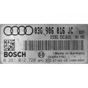 ECU Calculator Motor Audi A4 2.0TDI 03G906016JC 0281012728 EDC16U1 {