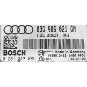 ECU Calculator Motor Audi A3 1.9TDI 03G906021GM 0281013085 EDC16U34 {