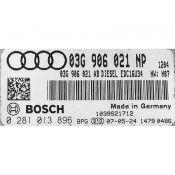 ECU Calculator Motor Audi A3 1.9TDI 03G906021NP 0281013896 EDC16U34 {