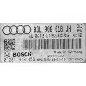 ECU Calculator Motor Audi A4 2.0TDI 03L906018JH 0281018458 EDC17C46 {