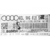 ECU Calculator Motor Audi Q5 2.0TDI 03L906018SH 0281019898 EDC17C46 {