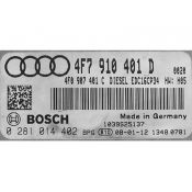 ECU Calculator Motor Audi A6 2.7TDI 4F7910401D 0281014402 EDC16CP34 BPP