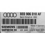 ECU Calculator Motor Audi A4 1.6 8E0906018AF 5WP40144 SIMOS 3.4A ALZ {