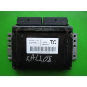 ECU Calculator Motor Chevrolet Kalos 1.2 96376652 S010016040A2 1ANG KEMSCO 4R