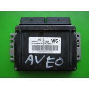 ECU Calculator Motor Chevrolet Aveo 1.2 96435561 5WY1E57E WC Sirius D42