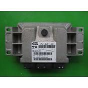 ECU Calculator Motor Citroen C5 2.0 9655956580 9650623180 IAW 6LP1.23