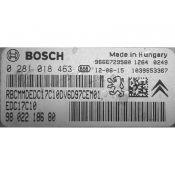 ECU Calculator Motor Peugeot 206 1.6HDI 9802218680 0281018463 EDC17C10 {