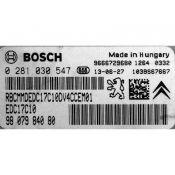 ECU Calculator Motor Peugeot 208 1.6HDI 9807984080 0281030547 EDC17C10 {