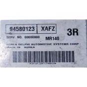 ECU Calculator Motor Daewoo Nubira 1.8 94580123 XAFZ {