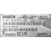 ECU Calculator Motor Dodge Journey 2.0CRD P05094821AF 0281014579 EDC16U31 ECE {