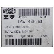 ECU Calculator Motor Fiat Multipla 1.6 51779339 IAW 4EF.BF {