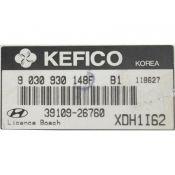 ECU Calculator Motor Hyundai Elantra 1.6 39109-26760 9030930148F {