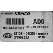 ECU Calculator Motor Kia Ceed 1.0T-GDI 39103-04CD0 CPEGD2.20.4