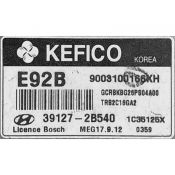 ECU Calculator Motor Kia 39127-2B540 MEG17.9.12