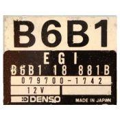 ECU Calculator Motor Mazda 323 1.3 B6B118881B 079700-1742 {