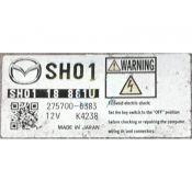 ECU Calculator Motor Mazda CX-5 2.2D SH0118881U 275700-6383 {
