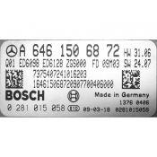 ECU Calculator Motor Mercedes Vito 2.2CDI A6461506872 0281015058 EDC16CP31 {