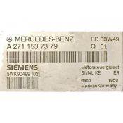 ECU Calculator Motor Mercedes E 1.8 A2711537379 SIM4L KE W211 {
