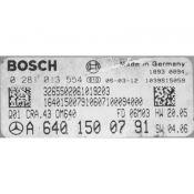 ECU Calculator Motor Mercedes A 2.0CDI A6401500791 0281013554 CRA.43 EDC16C32 {