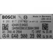 ECU Calculator Motor Mercedes B 1.8CDI A6409003900 0281017238 CR40.40 EDC17C43