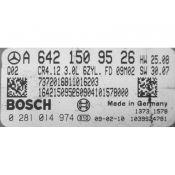 ECU Calculator Motor Mercedes ML 3.0CDI A6421509526 0281014974 CR4.12 EDC16CP31