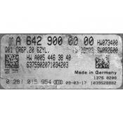 ECU Calculator Motor Mercedes GL 3.0CDI A6429000000 0281015954 CR6P.20 EDC17CP10