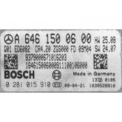 ECU Calculator Motor Mercedes Sprinter 2.2CDI A6461500600 0281015910 EDC16CP31