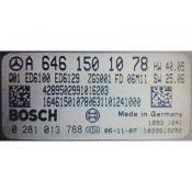 ECU Calculator Motor Mercedes Vito 2.2CDI A6461501078 0281013788 EDC16CP31 {