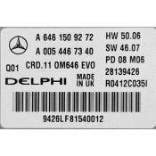 ECU Calculator Motor Mercedes C 2.2CDI A6461509272 CRD.11 W204