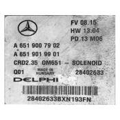 ECU Calculator Motor Mercedes Sprinter 2.2CDI A6519007902 CRD2.35 W639