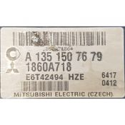 ECU Calculator Motor Mitsubishi Colt 1.5 1860A718 A1351507679 {