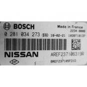 ECU Calculator Motor Nissan Micra 1.5DCI 237105FD1D 0281034273 EDC17C84 {