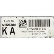 ECU Calculator Motor Nissan Juke 1.6 MEC940-160 KA {