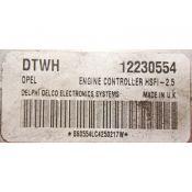ECU Calculator Motor Opel Meriva 1.6 12230554 DTWH Z16XE HSFI-2.5 {
