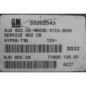 ECU Calculator Motor Opel Corsa C 1.3CDTI 55202543 6O2.CM {
