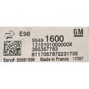 ECU Calculator Motor Opel Astra J 1.6CDTI 55491600 ACDELCO E98 {