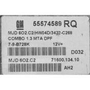 ECU Calculator Motor Opel Combo 1.3CDTI 55574589 6O2.C2 {