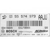 ECU Calculator Motor Opel Astra 2.0CDTI 555749735 0281016735 EDC17C18 {