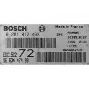ECU Calculator Motor Peugeot 807 2.0HDI 9663447480 0281012463 EDC15C2
