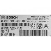 ECU Calculator Motor Peugeot 308 1.6 9665742680 0261S04626 MED17.4 {