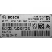 ECU Calculator Motor Peugeot 208 1.4HDI 9808016480 0281030548 EDC17C10 {