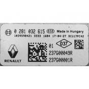 ECU Calculator Motor Renault Trafic 237G00049R 0281032615 AdBlue DCU17PC42