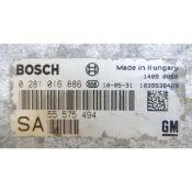 ECU Calculator Motor Saab 9-3 1.9TID 55575494 0281016886 EDC16C39 { +