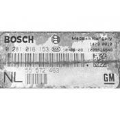 ECU Calculator Motor Saab 9-3 1.9 55572463 0281016153 EDC16C39 {